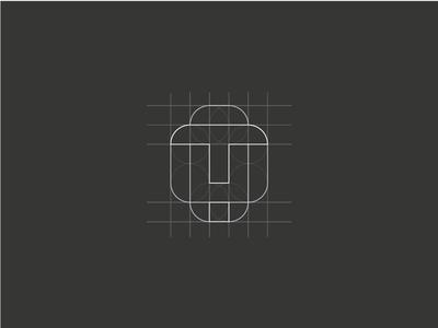 Logo concept - The grid
