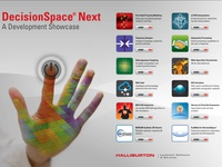 Halliburton DecisionSpace Next Menu Screen