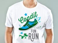 Condit Elementary School Fun Run Tee