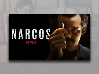 Narcos Netflix Poster show tv red white black funny new clean narcos netflix net ui