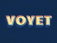 Voyet Retro Typeface