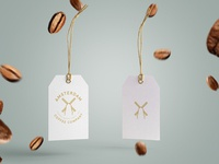Amsterdam Coffee Company Logo Tag Concept