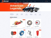 Motor - Vehicle, Parts & Accessories Store