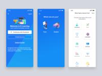 Education app - Register for student flows