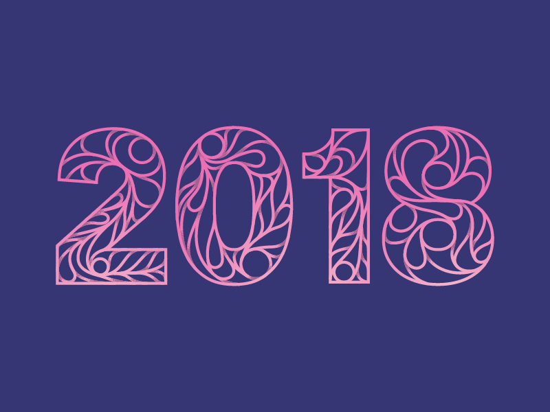 2018 pink illustration 2018