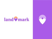 land—mark logo