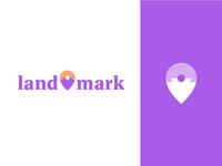 land—mark logo