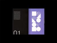 MONO ID — Booklet spread