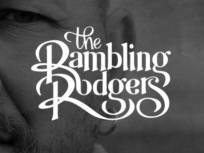 Rambling Rodgers rock band logo
