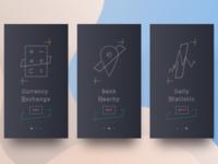 Onboarding Screens Currency iOS App