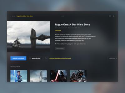 Movie concept app