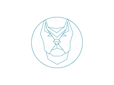 Dogs of Dribbble animal geometry character bulldog 365daysofsomething day024