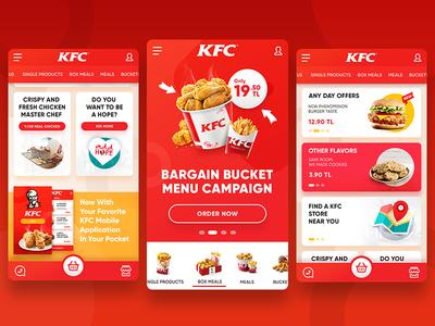 KFC Turkey Responsive Redesign