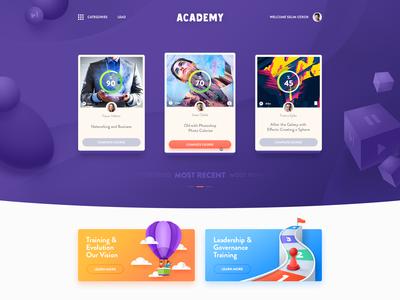 Academy Onlline Learning Platform