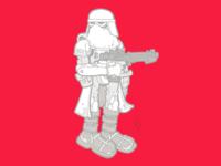 Star Wars: Snowtrooper
