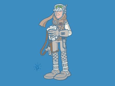 Star Wars: Luke Skywalker (Hoth Battle Gear)