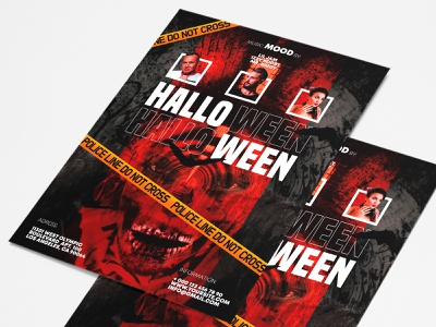 Free Halloween Flyer PSD Template free flyer template horror flyer spooky horror scary all saints eve october 31 happy halloween halloween party halloween flyer free flyer halloween free download free psd freebie design