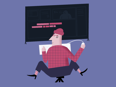 Cover Illustration, best online courses and last update creative blog post article character blog color vector clean ux ui illustration design