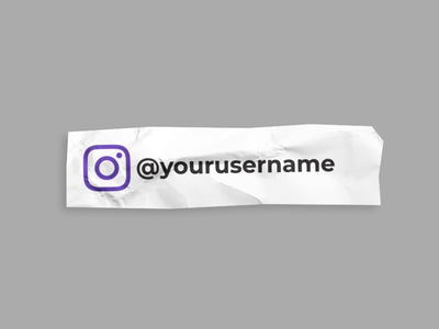 Paper Social Lower Thirds Element for YouTube Channel twitter facebook instagram clean download flat illustration brand lower thirds text ui animation design gif minimal after effects paper social youtube branding