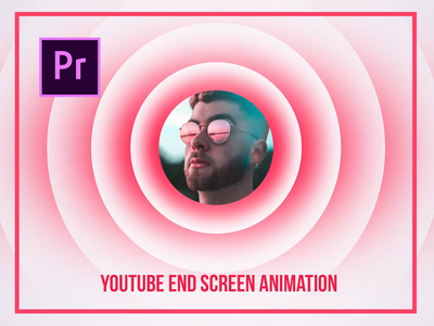 YouTube End Screen Template Video Animation for Premiere Pro