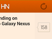 HN (Hacker News Reader for Android), soon opensourced