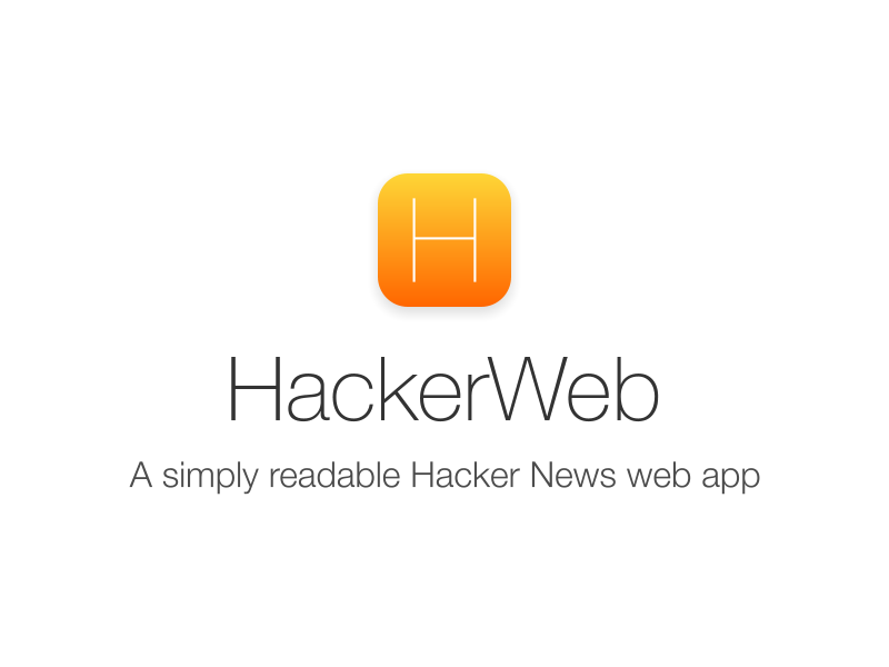 HackerWeb iOS 7 icon, 2nd attempt hackerweb hackernews ios7 ios icon flat