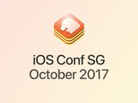 iOS Conf SG - logo proposal 2nd iteration