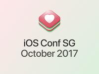 iOS Conf SG - logo proposal 3rd iteration