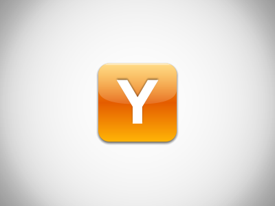 Y icon dribbble