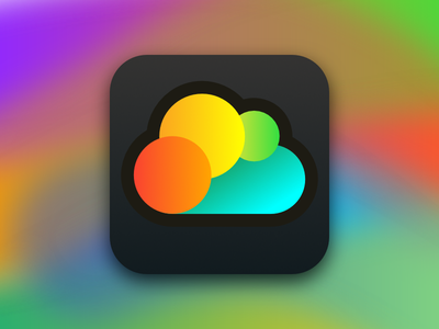 Yet another icon for yet another weather app rainbow singapore sun cloud weather app icon