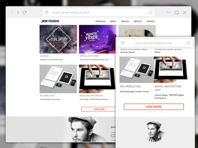 Portfolio portfolio webdesign mobile motion design after effects