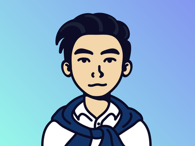 Avatar commission icon character inkscape character design illustration avatar design avatardesign avatar icons flat design flat vector commission avatar