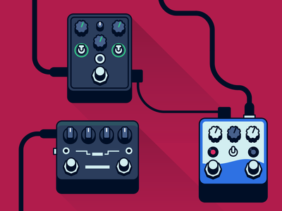 Diffuse cover // pedals effect pedals effects pedals audio icon audio tools production icon design cover photo audio illustration icon vector