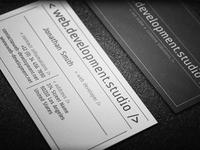 Developer Business Card