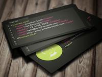 Developer Business Card 2