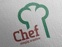 Chef Simply Creative Logo