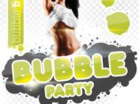 Bubble Party Flyer