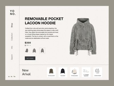 Hoodie Product Page graphic design user experience user interface hoodie product page shop ecommerce shopping product page branding design ux ui