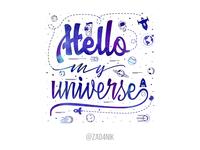 Hello my universe