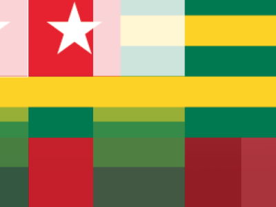 Ratio Portion Colors Togos design illustration togos flag design flag logo flag