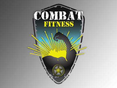Badge Practice arts martial gym fist star fight champion ufc concord fitness combat badge