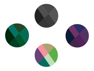 color & line study lines logo theme contrast colors