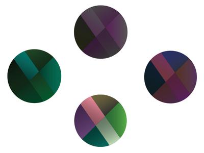colored-gradient & line study lines gradient colors