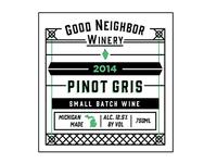 Good Neighbor Winery - Wine Label - WIP