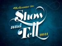 Show and Tell 2014 Poster