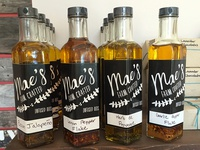 Mae's Farm Crafted Oils Packaging