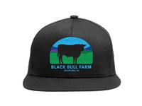 Black Bull Farm Snap Back Hat