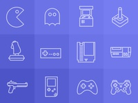 iOS7 Retro Game icons