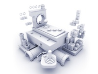 Video game asset visual
