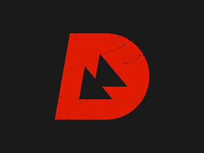 dialled concept mtb speed focus downhill mountainbike dialled monogram symbol icon mark branding logo minimal